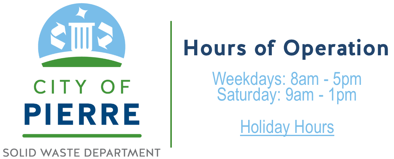 Hours of Operation Weekdays: 8am - 5pm Saturday: 9am - 1pm